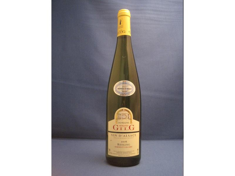 Domaine Gilg Riesling Marnes et Calcaire